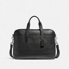 Coach F11319 Mens Hamilton Leather Laptop Crossbody Business Bag Briefcase