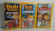 Bob The Builder VHS Lot of 3