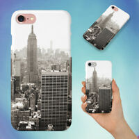NEW YORK BUILDING HARD BACK CASE FOR APPLE IPHONE PHONE