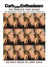 CURB YOUR ENTHUSIASM : Complete First Season Larry David HBO Comedy DVD *EXC*