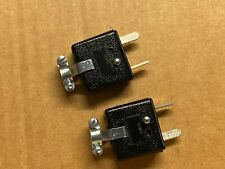 2 New Pioneer Speaker Plug Replacements for Vintage Receivers (Qty)