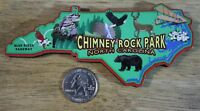 Chimney Rock Park North Carolina Wood Travel Souvenir Magnet