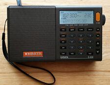 XHDATA D-808 FM Stereo/LW/MW/SW-SSB AIR RDS World Band Portable DSP Receiver
