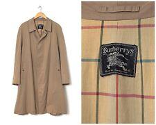80s Vintage Mens BURBERRYS Coat Jacket Beige Size 48 M