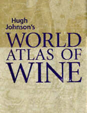 World Atlas of Wine 4th Edition, King, Alice, New Book