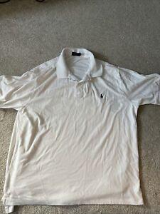 polo Ralph Lauren 2xb white shirt