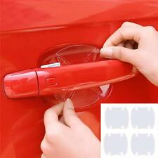 4pc Car Auto Door Scratches Protection Protector Sticker Invisible Transparent B