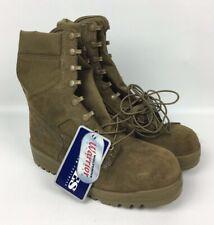 New Bates USMC Wolverine Warrior Women's Leather Gore-Tex Boots Coyote 9.0 WF