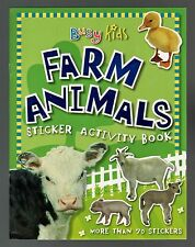 Busy Kids:  FARM Animals  Sticker  Activity - NEW - MINT - FREE S/H  Offer Avail