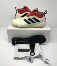Adidas ACE 17+ Purecontrol FG/AG Soccer Football Cleats (US Sz 10) Champagne/Red