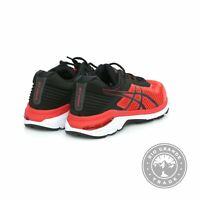 NEW ASICS T805N Men's GT-2000 6 Running Shoes in Red Alert / Black - 11.5 M