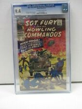 Sgt. Fury and His Howling Commandos  #40 CGC Universal Grade 9.4