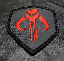 Mandalorian Bounty Hunter Boba Fett Shield Morale Hook Patch (SW05)