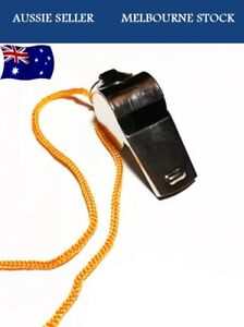 Metal Sports Whistle Referee Indoor Outdoor Match Camping Emergency