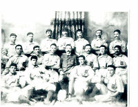 1896 BALTIMORE ORIOLES  TEAM 8X10  PHOTO  BASEBALL HOF USA