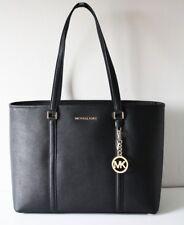MICHAEL KORS TASCHE BAG Shopper SADY LG MF TZ TOTE black schwarz Leder