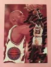 1993-94 Fleer Sharpshooter #3 Michael Jordan Chicago Bulls Basketball Card