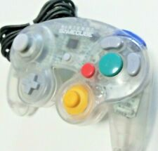 Nintendo Official GameCube Wii Controller Pad Clear GC Japan F/S