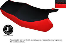 RED & BLACK VINYL CUSTOM FITS HONDA VF 750 S V45 SABRE DUAL SEAT COVER ONLY