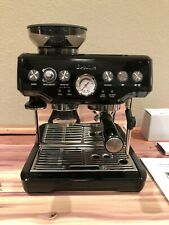 Breville the Barista Express Espresso Machine BES870XL Black Sesame, Clean