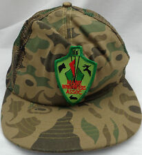 VINTAGE MAINE BOWHUNTERS ASSOCIATION TRUCKER'S CAP ONE SIZE FITS ALL MESH BACK