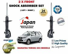 FOR DAIHATSU TERIOS 4X4 2005-> 2X FRONT LEFT + RIGHT SHOCK ABSORBER SHOCKER SET