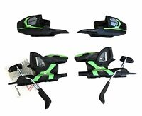Atomic E Ft 10 GW L80 Grip Walk Ski Bindings Green/Black NEW