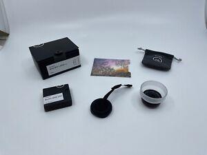 MOMENT - Macro Lens 25mm - V2 - Objektiv mit Abdeckung (Rear Lens Cap)