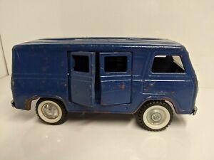 Vintage Nylint Econoline Ford Van purple pressed Steel 1960's