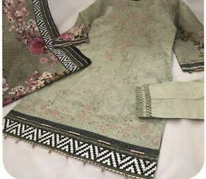 Pakistani Winter Shalwar Kameez Ready to Wear Bin Saeed Shalwar Kameez Khaddar