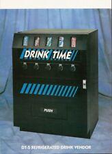 -Soda cold drink Vending Machine-Dundas Vm250-Live Can Display