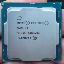 Intel Celeron G4930T CPU 3GHz 2-Core 2-thread 2MB LGA1151 35W SR3YQ Processor