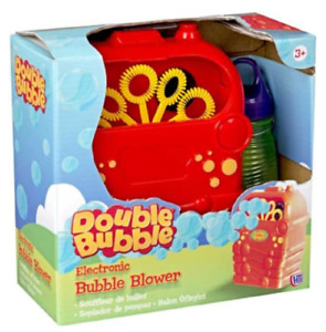 HTI Double Bubble Blower Electronic Machine Kids Toys Home