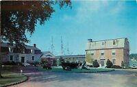 Museum Yard Mystic Seaport Connecticut CT old cars Postcard