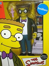 """SIMPSONS Faces of Springfield 9"""" DELUXE FIGURE - SMITHERS with Malibu Stacey"""