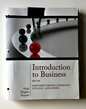 Introduction To Business/Bus 100/Northern Virginia Community College/Alexandria