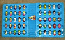 Vtg Mighty Beanz Moose Complete Set Numbered 53 + Carrying Case Vgc