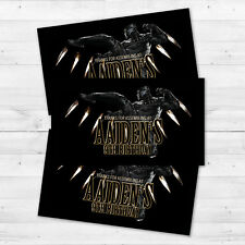 10 Black Panther Birthday Party Favors Personalized Thank You Tags