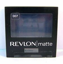 Revlon Eye Shadow Matte Powder Shadow Single - Riviera Blue 007