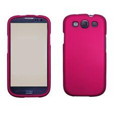 SAMSUNG GALAXY S3 i9300 SNAP ON HARD CASE ROSE PINK