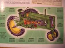 John Deere Model 70 Tractor GREEN Magazine