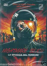 Nightmare Beach La spiaggia del terrore (1989) DVD NUOVO John Saxon Sarah Buxton
