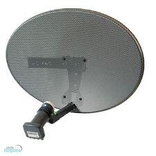 New Mk4 Zone 1 Satellite Dish & Mk4 Quad Lnb For Freesat Sky + Plus HD Dishes