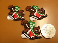 Christmas Squirrel Motifs   - Packet 12