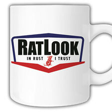 Ratlook Mug Mr Oilcan Exclusive Limited edition dub rat hoodride