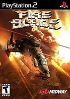 FireBlade (Sony PlayStation 2, 2002) PS2 Tested