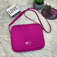 Michael Kors Neoprene Hot Pink Tablet Ipad Cover Case Crossbody Purse Bag
