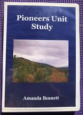 CD Pioneers Unit Study Homeschool Education Amanda Bennett History CD-ROM