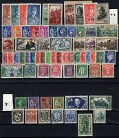 H128411 / FRANCE / COMPLETE YEAR 1941 MH * / MNH ** CV 200 $