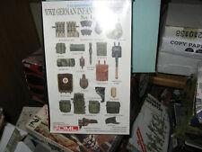 Dml-W.W.Ii German Infantry Equipment-1/35 Scale-Free Shipping